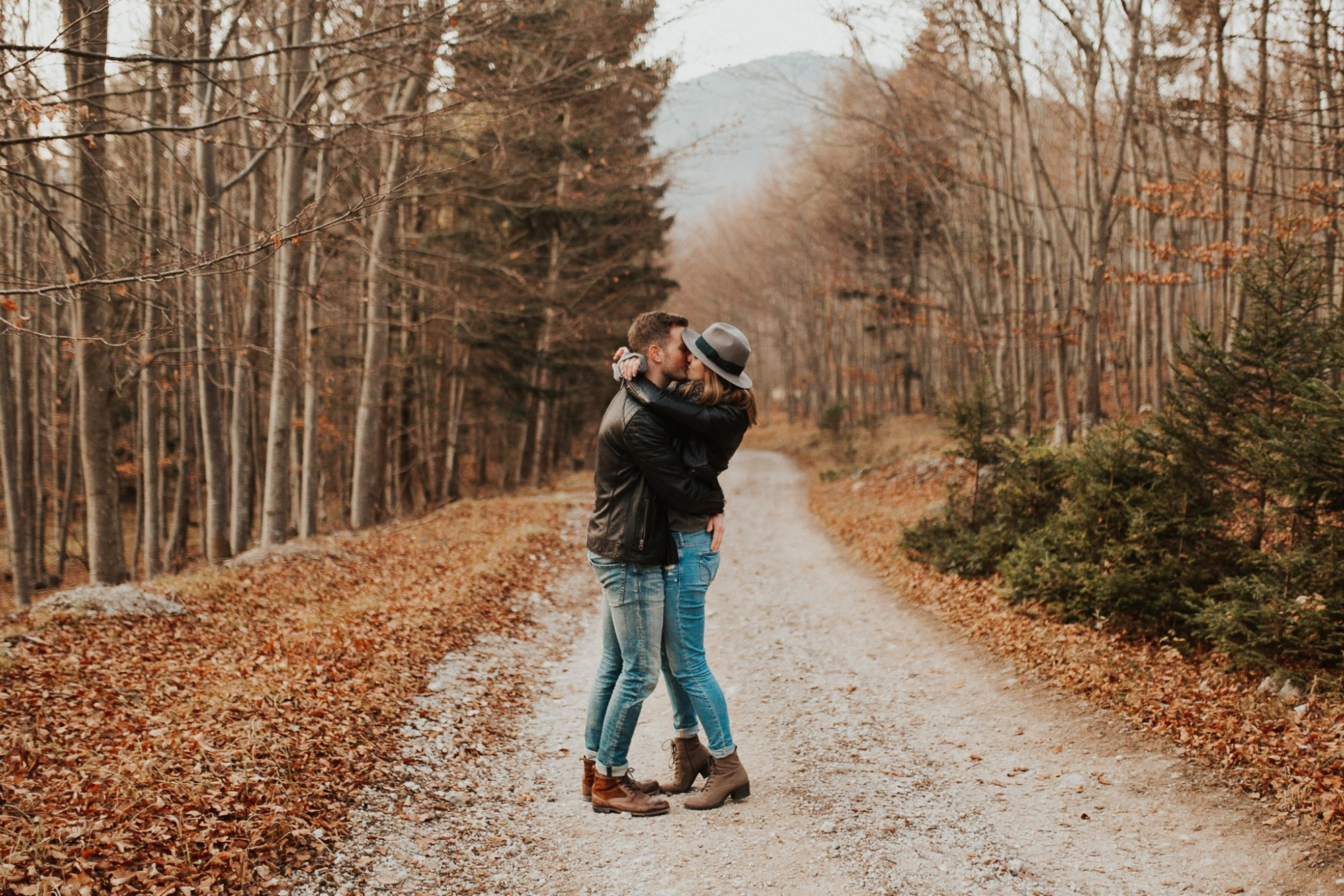 Autumn couples session in Lower Austria