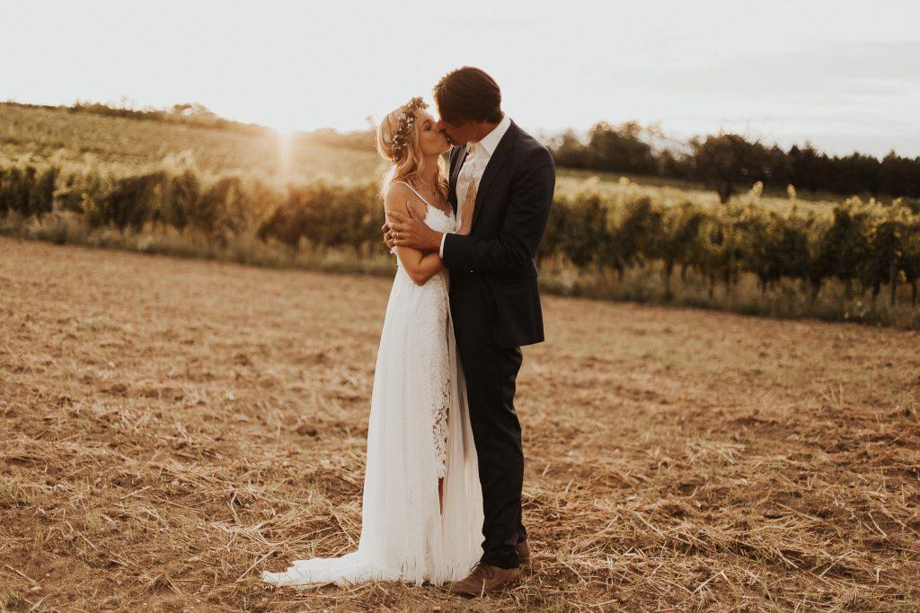 Boho Intimate wedding in Himmelblau Rust