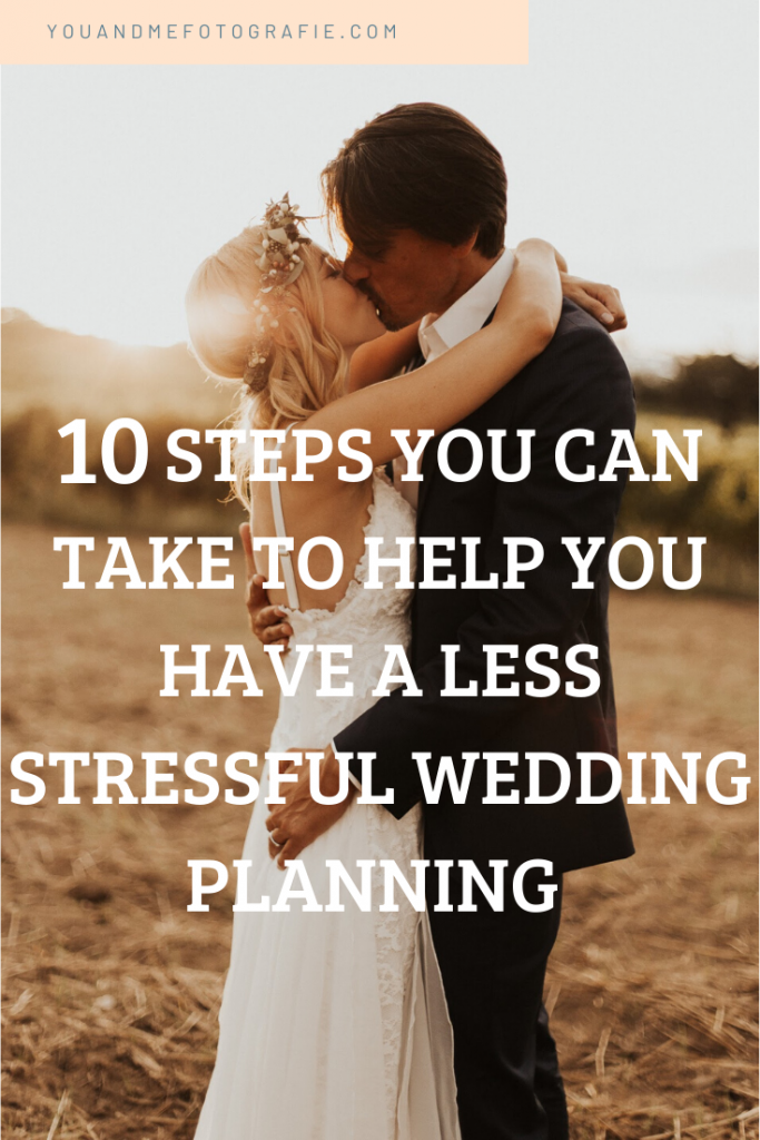 Wedding guide - how to have a less stressful wedding planning
